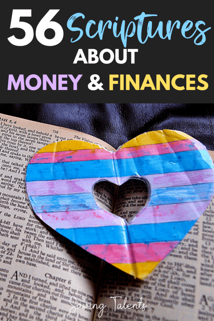 56 Scriptures About Frugal Living, Money, and Finances
