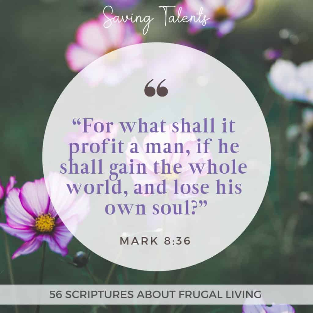 Scriptures About Money