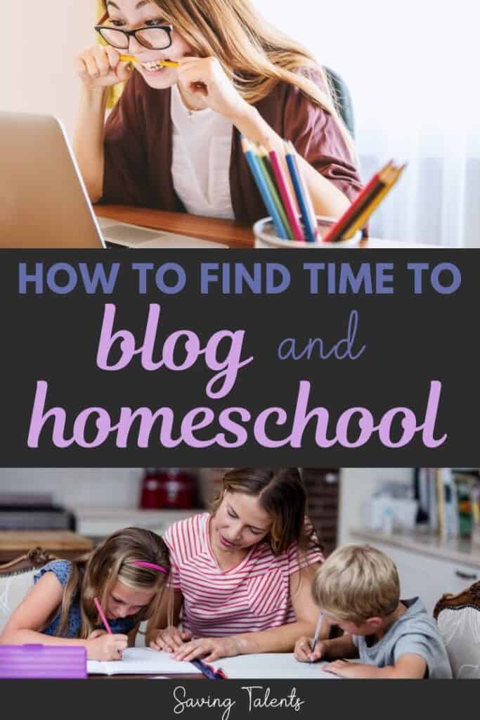 work from home and homeschool