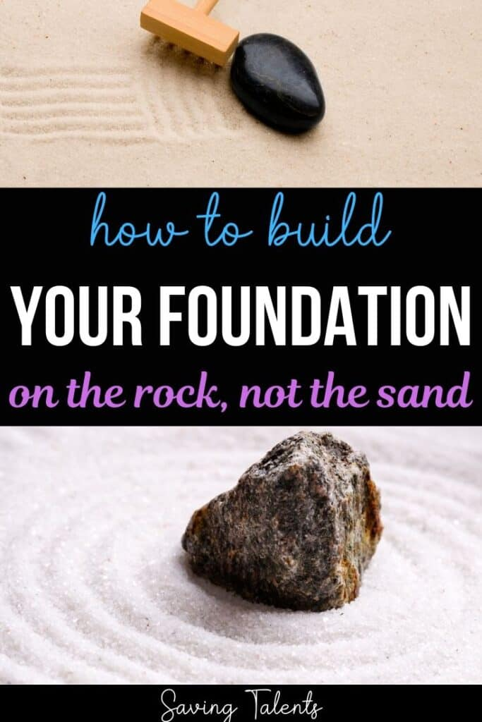 Build Your Spiritual Foundation on the Rock, Not the Sand