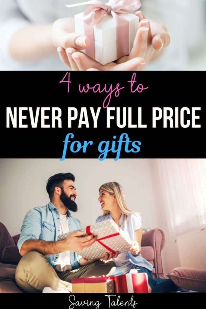 4 Ways to Never Pay Full Price for Gifts Again