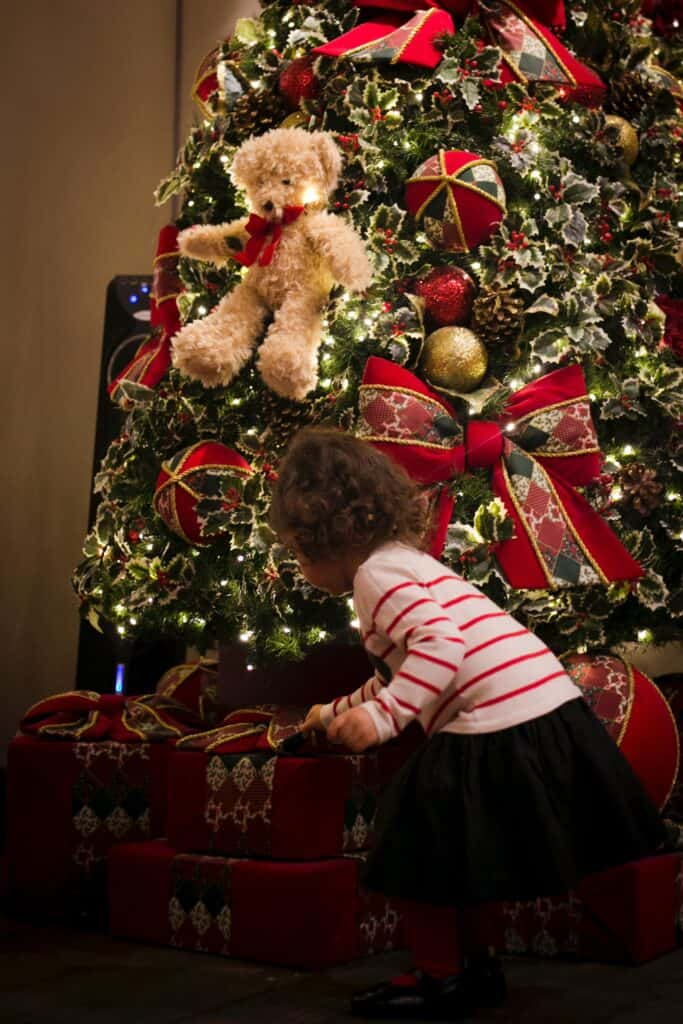 Christmas gifts from grandparents to kids