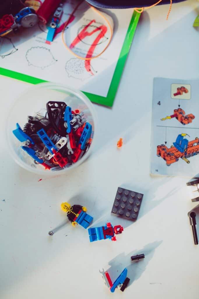 non candy stocking stuffer - legos