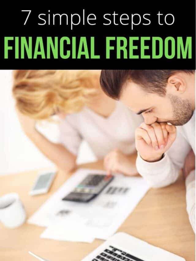 7 steps to financial freedom – webstory