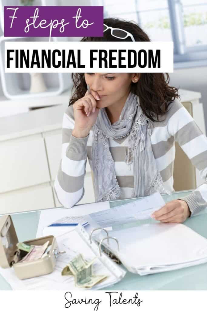 7 Simple Steps to Financial Freedom