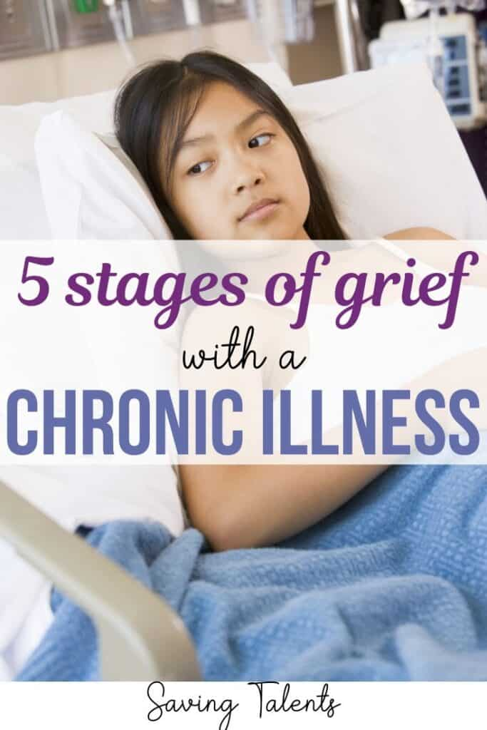 5 Stages of Grief With a Chronic Illness Diagnosis