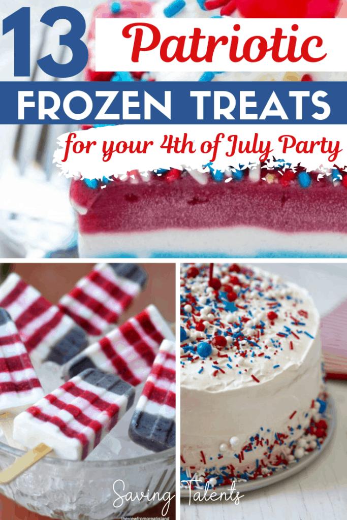 13 Patriotic Frozen Treats