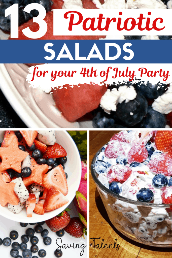 13 Red, White, and Blue Salads for Patriotic Holidays
