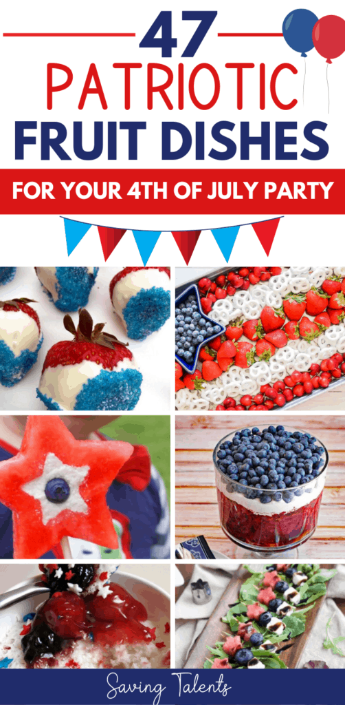 patriotic fruit dishes