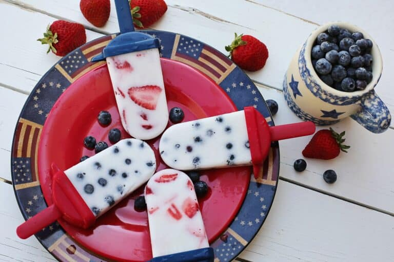 Patriotic 4th of July Dishes Made With Fruit