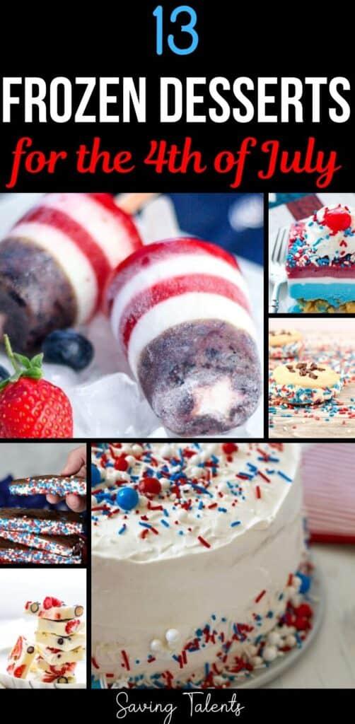 patriotic frozen treats