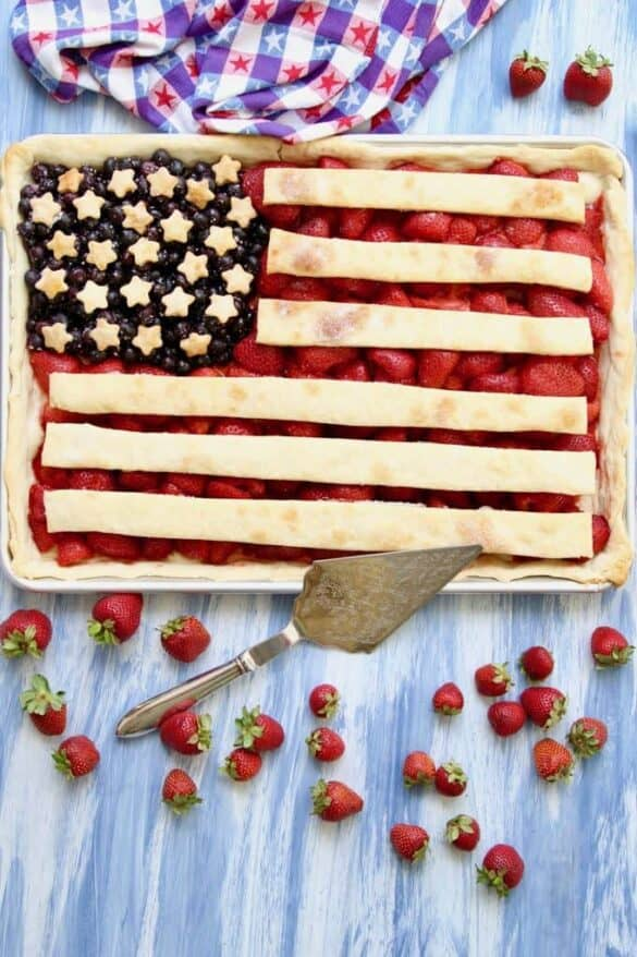 47 Patriotic Dishes Made With Fruit