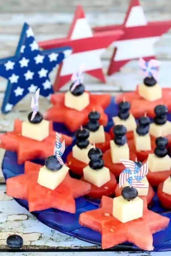 18 Patriotic Appetizers & Side Dishes