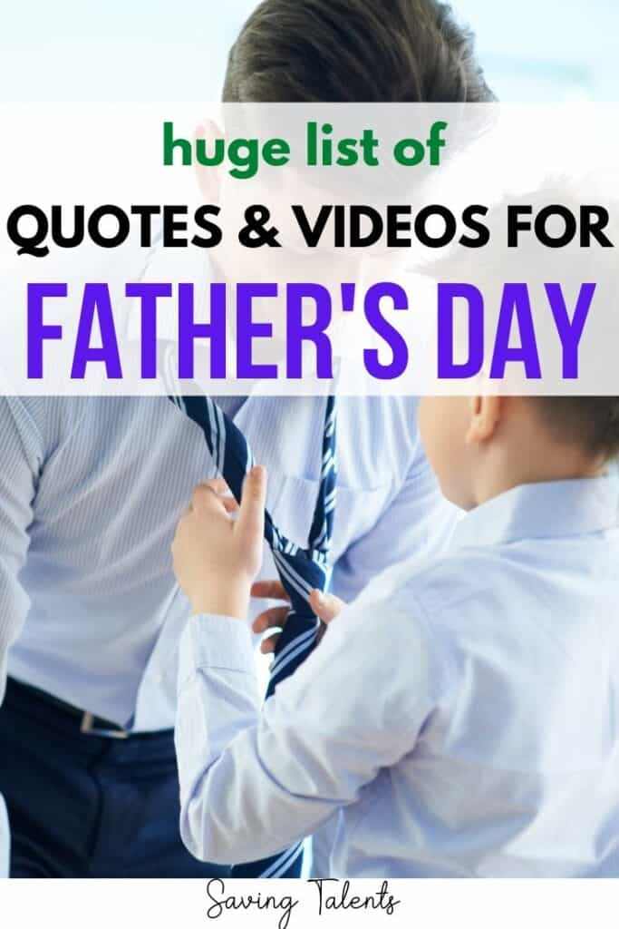 Inspirational Fathers Day Quotes Videos