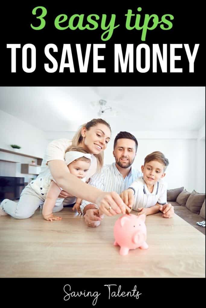 3 Simple Tips to Save Money
