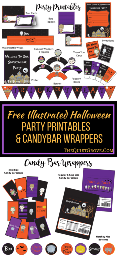 18 Amazing (and Free) Halloween Printables | Saving Talents