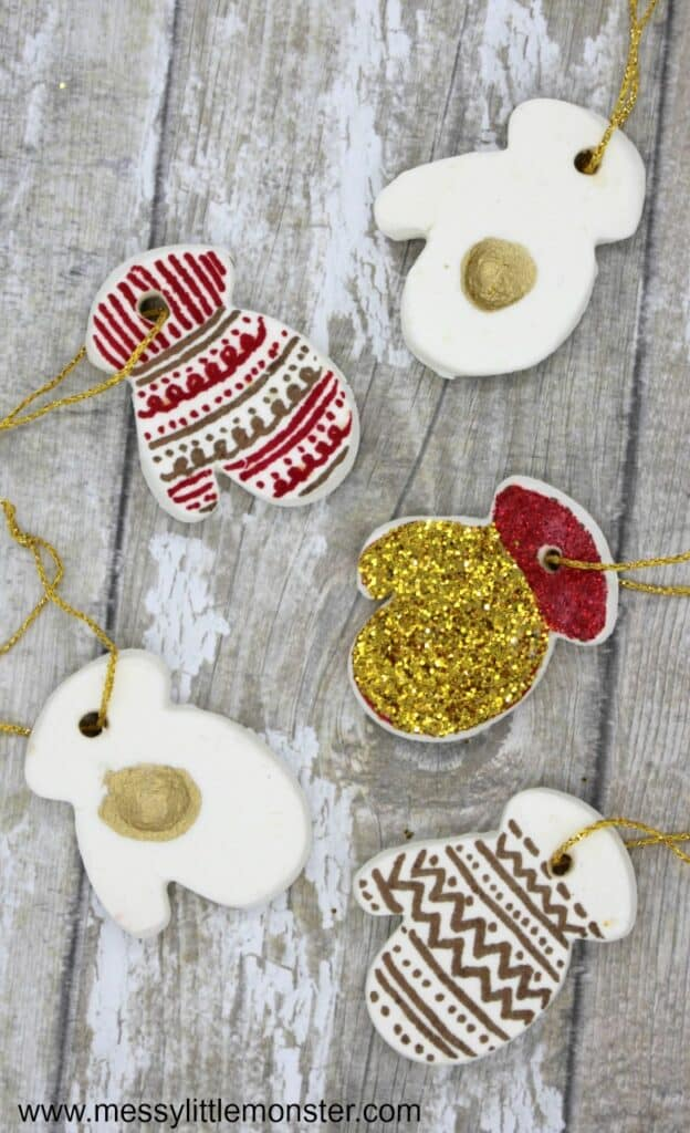 39 DIY Christmas Ornaments Kids Can