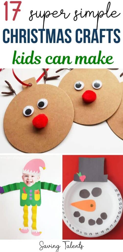 17 Simple Christmas Crafts for Kids to Create