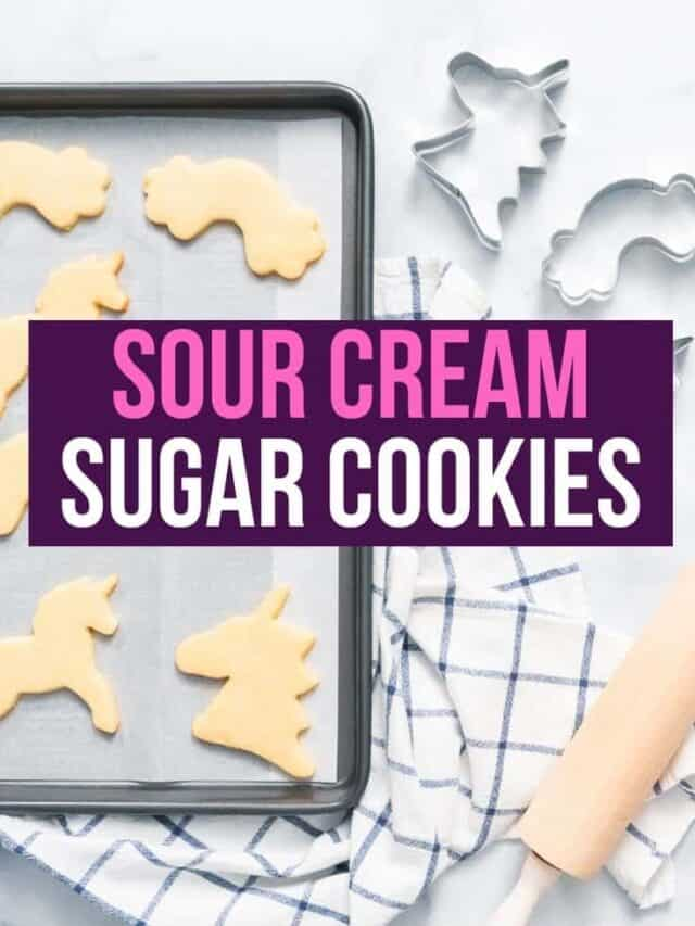 sour cream sugar cookies – story