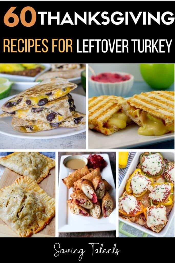 60 Recipes for Leftover Thanksgiving Turkey