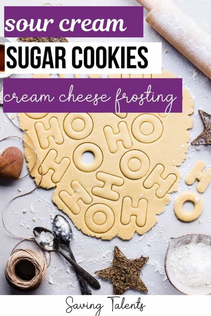 Simple Recipe for Sour Cream Sugar Cookies with Cream Cheese Frosting (with Mother-in-Law Approval!)