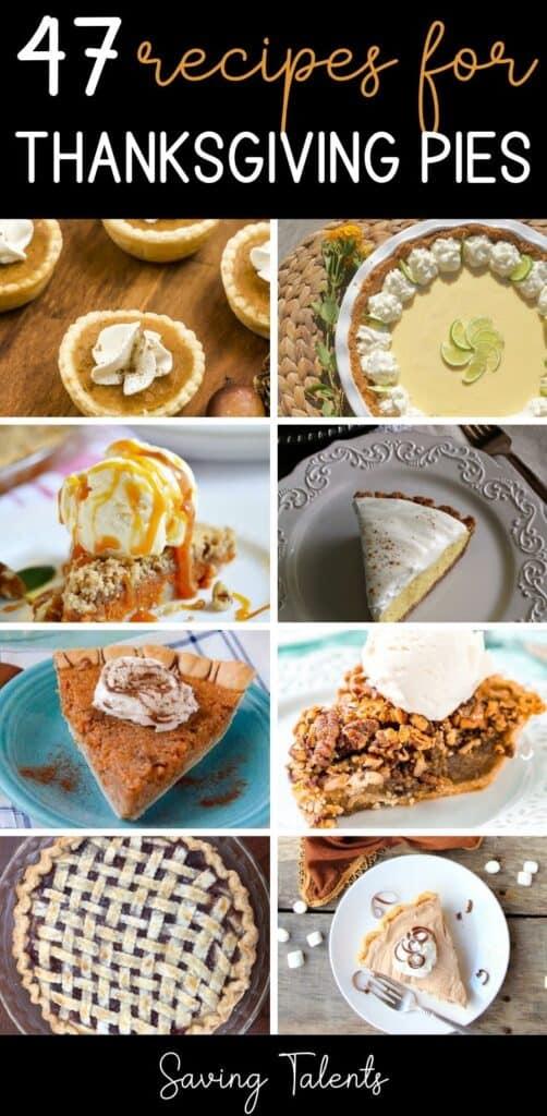 47 Thanksgiving Pie Recipes