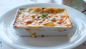 Amazing Chicken Veggie Lasagna with Homemade Cheese Sauce