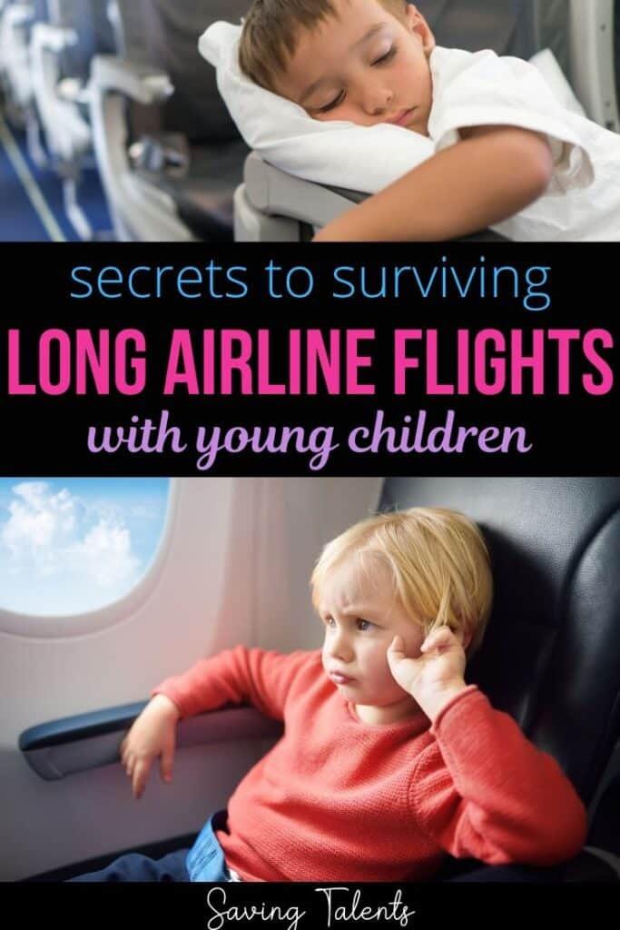 Secrets to Surviving a Long Airline Flight with Toddlers