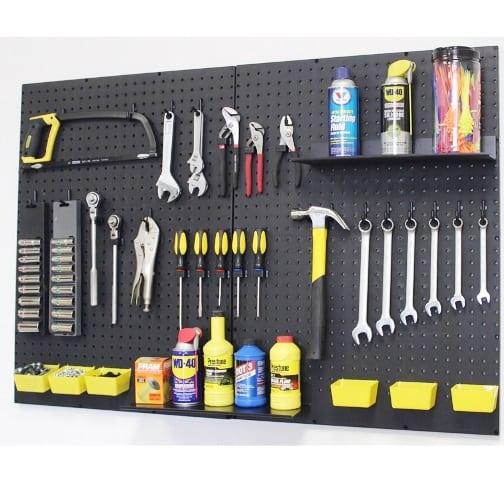 ways to organize your garage