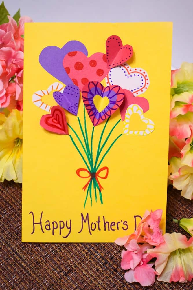14 DIY Mother's Day Cards that Kids Can Make | Saving Talents