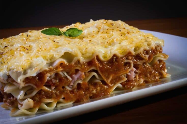 Easy & Delicious Lasagna (with a Make-Ahead Freezer Option!)