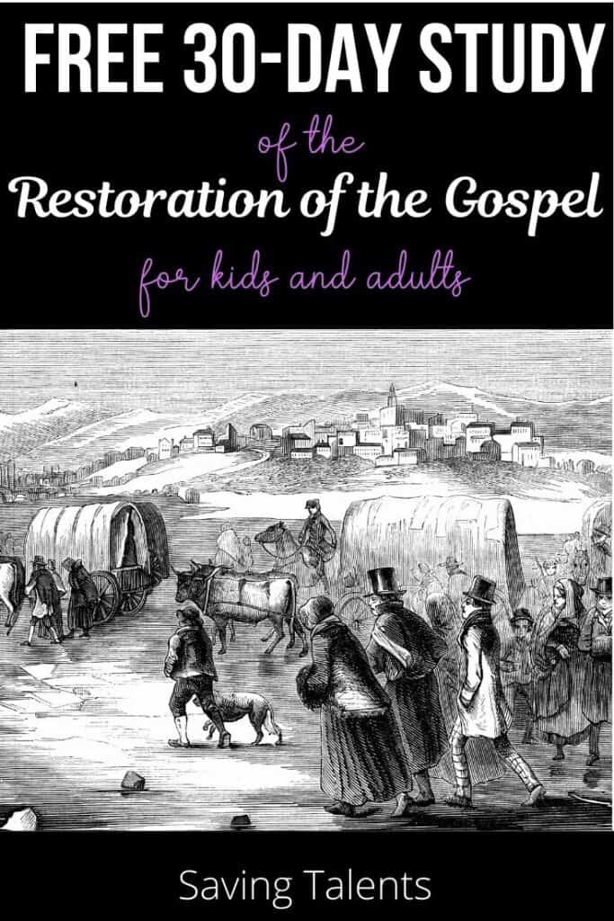 Study of the Restoration