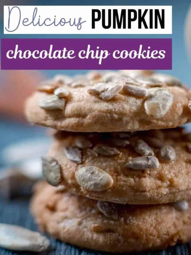 Pumpkin chocolate chip cookies – story