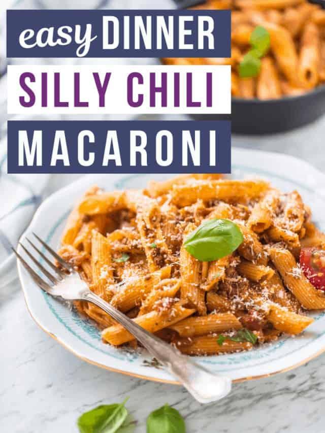 Silly chili macaroni story