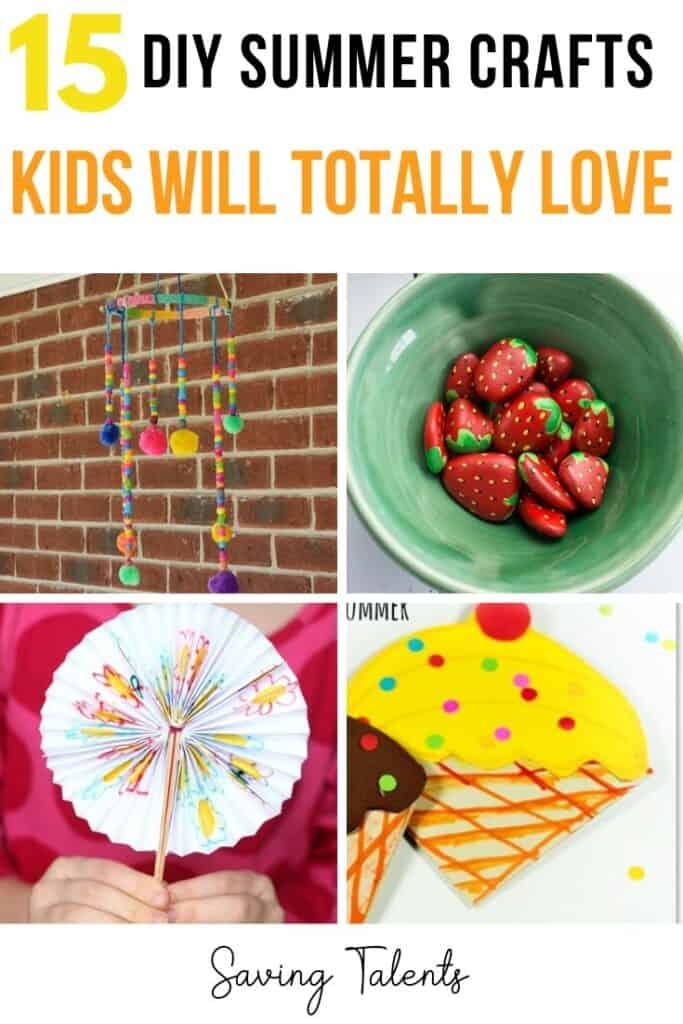DIY Summer Crafts for Kids