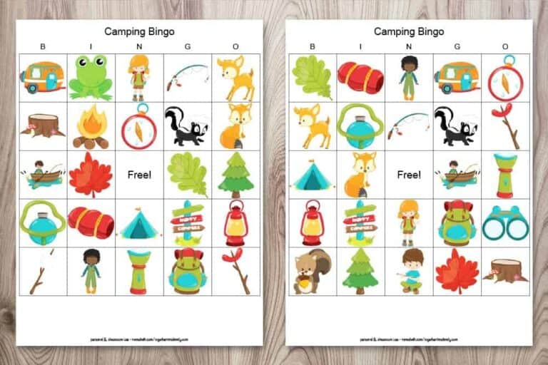 Fun & Free Summer Printables for Kids
