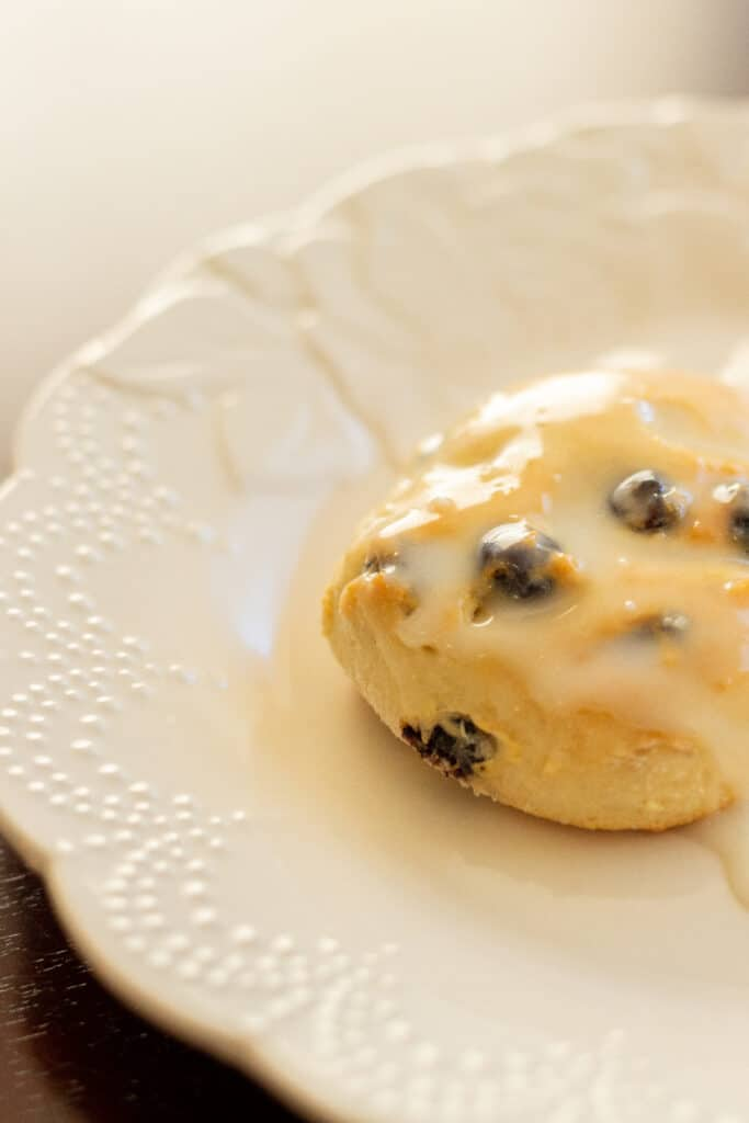 blueberry lemon biscuit