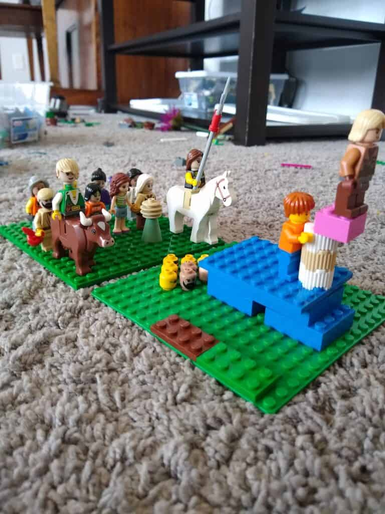 lego challenges and activities for kids