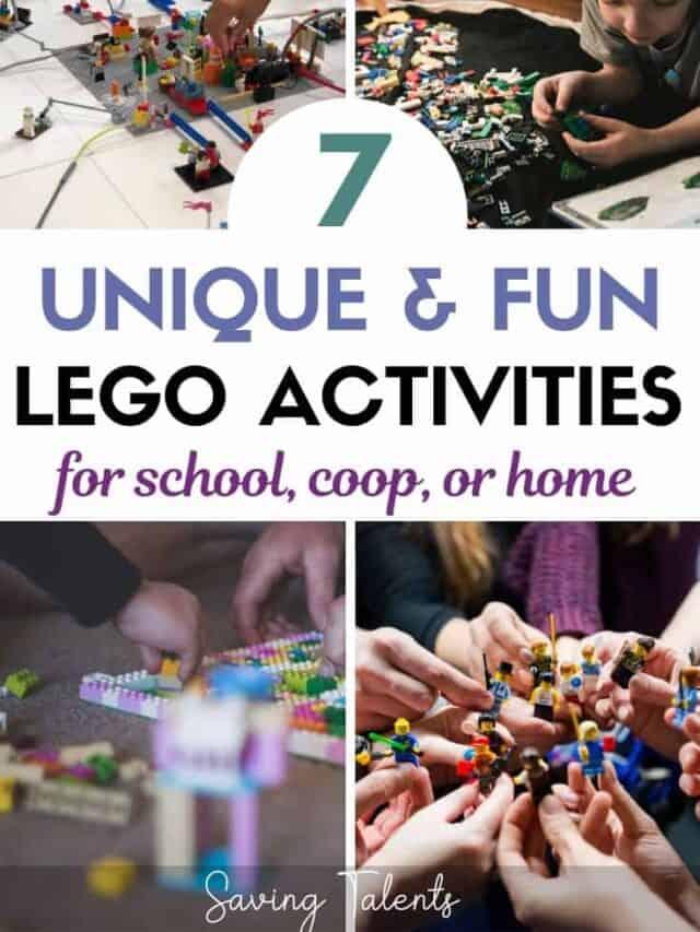 lego challenges activities – story