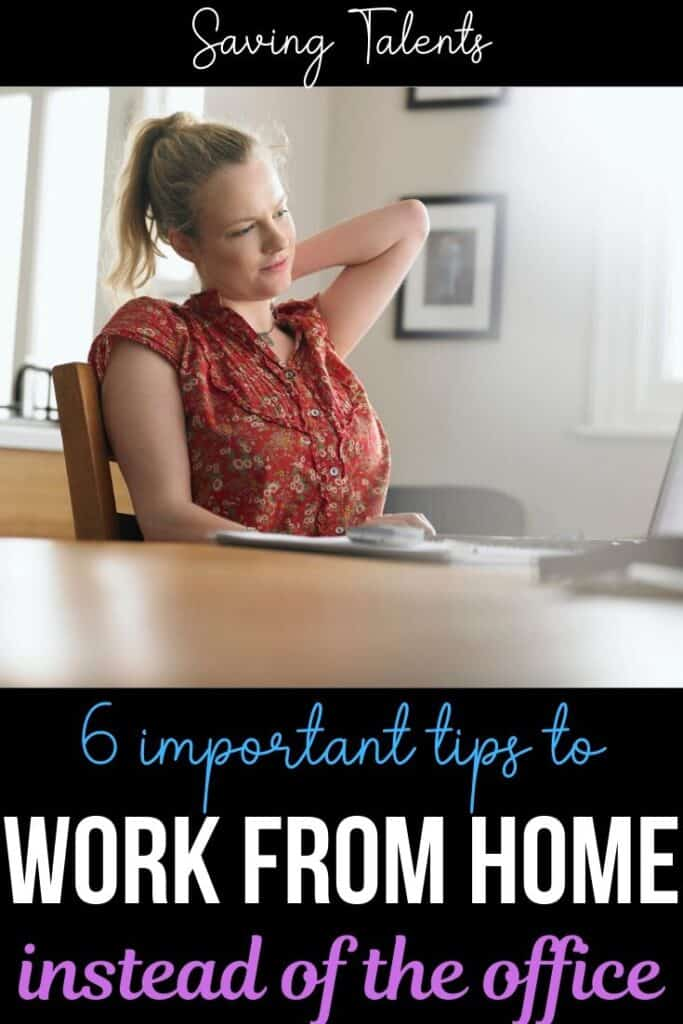 Tips for Working at Home Instead of the Office