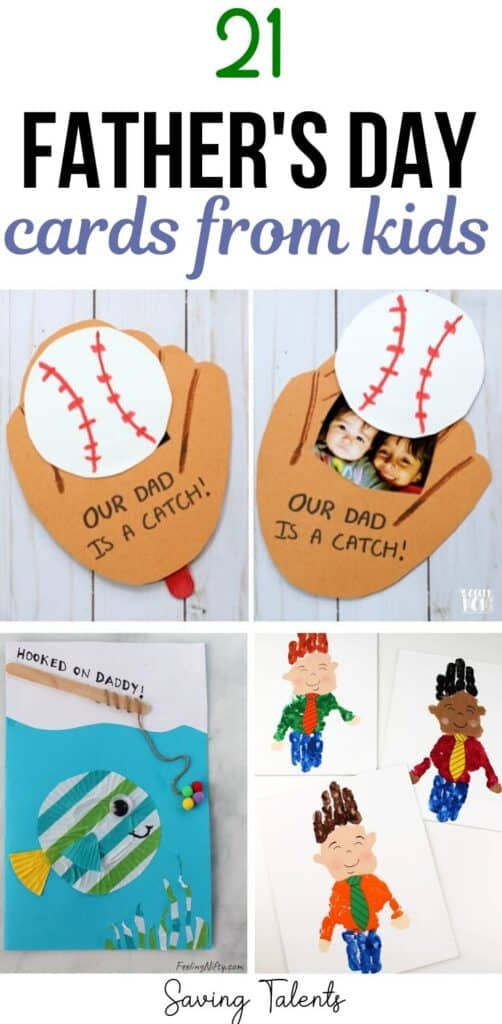 Father's Day Cards for Kids to Make