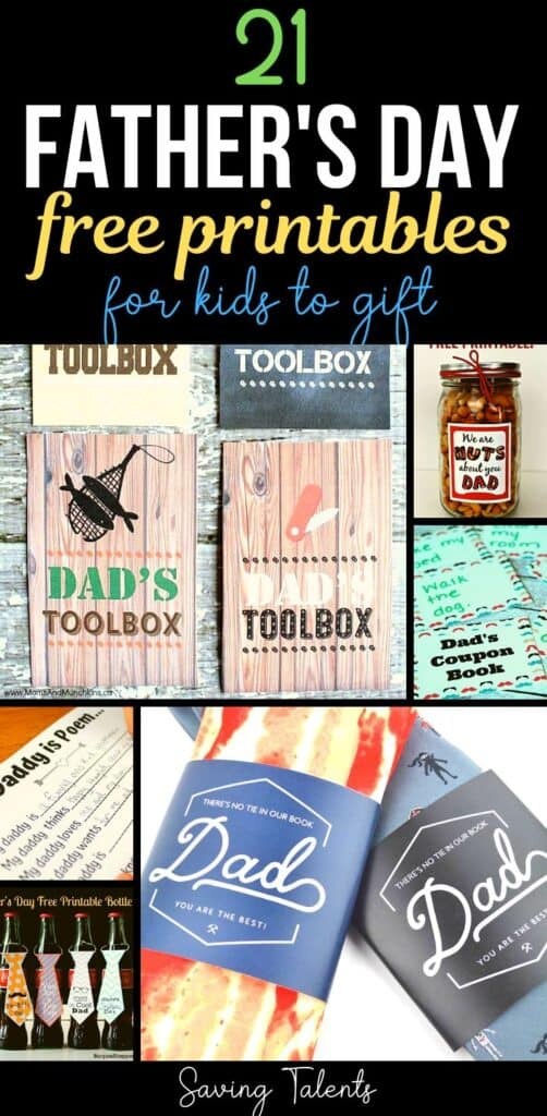 Free Father's Day Printables for Kids