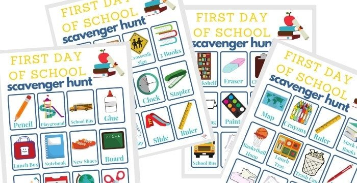 Crafts and Free Printables for Back to School