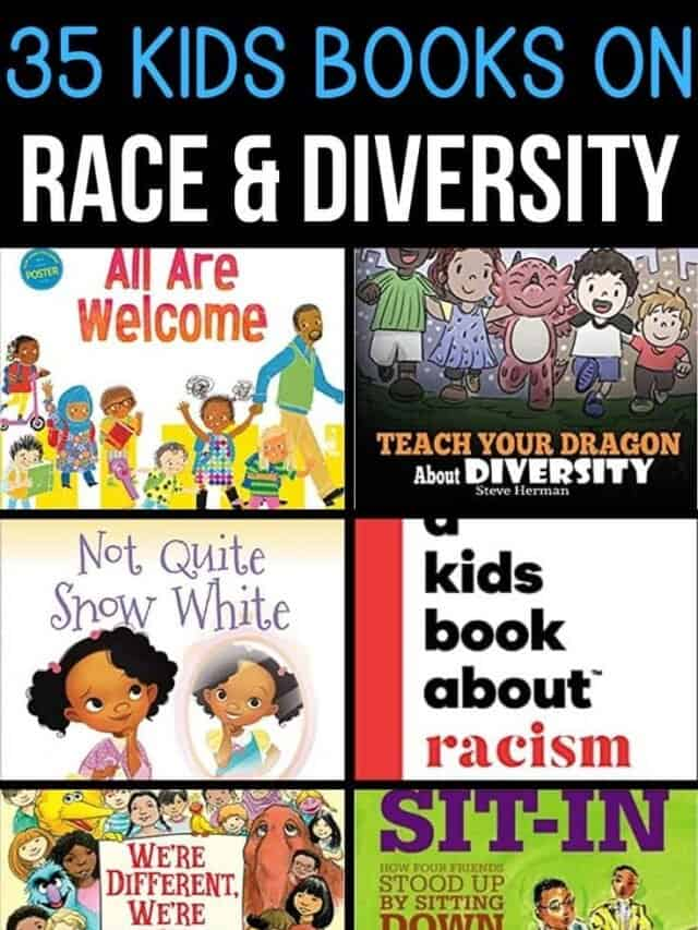 racism and diversity kids books – story