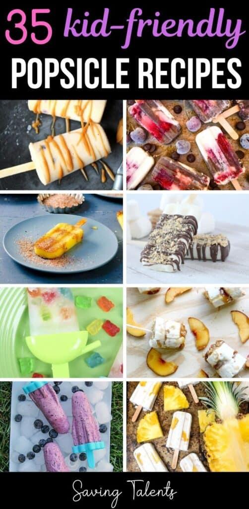 35 Refreshing Kid-Friendly Popsicle Recipes