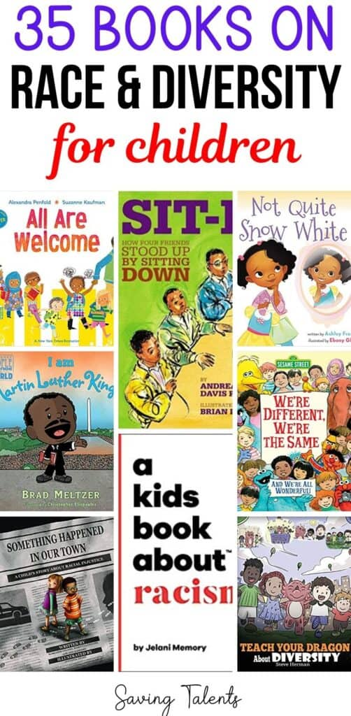35 Books to Teach Children About Racism and Diversity