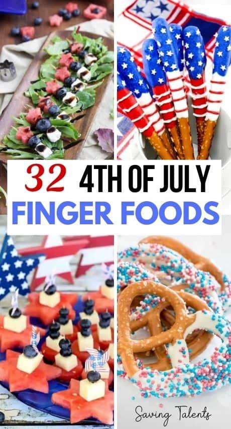 Patriotic Finger Foods story