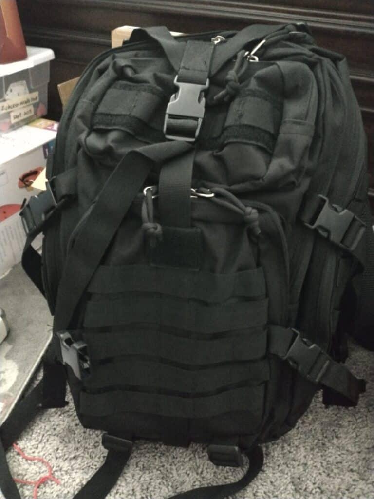 72 hour kit bug out bag