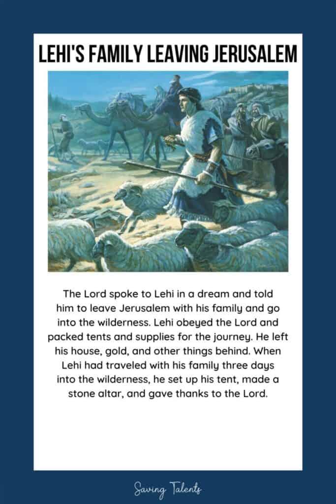 free printable quiet book for church - book of mormon
