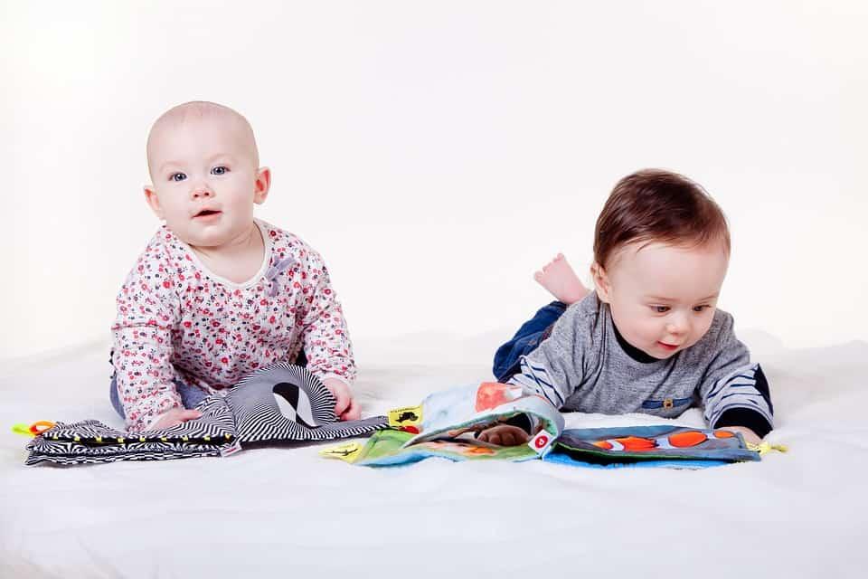 Homemade Sensory Development Toys for Babies - Board Books